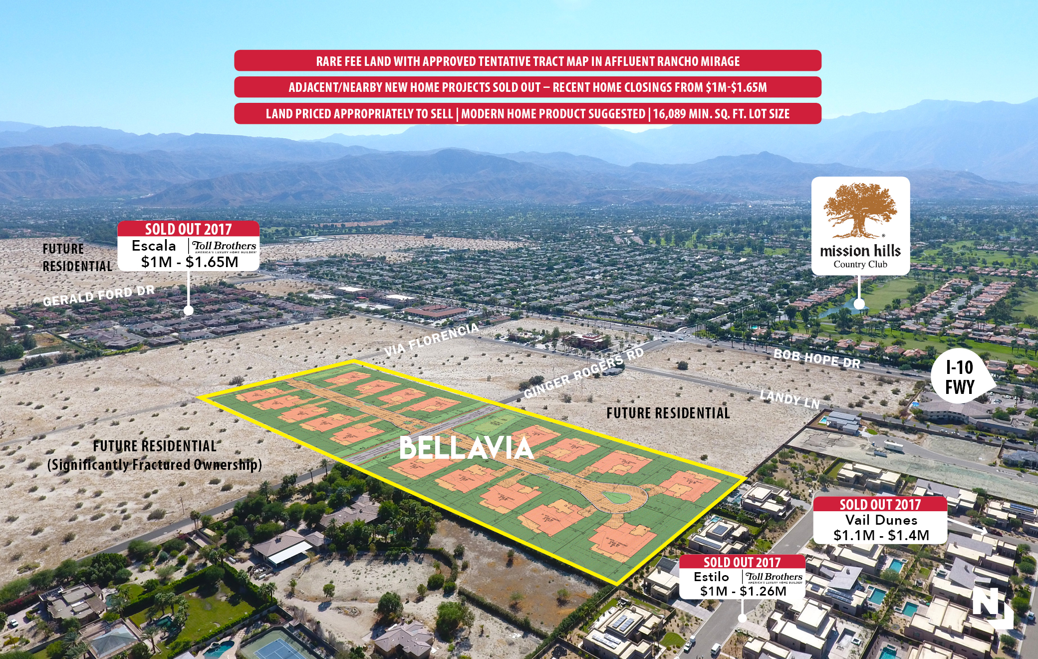 Bellavia 18 Approved Luxury Tentative Tract