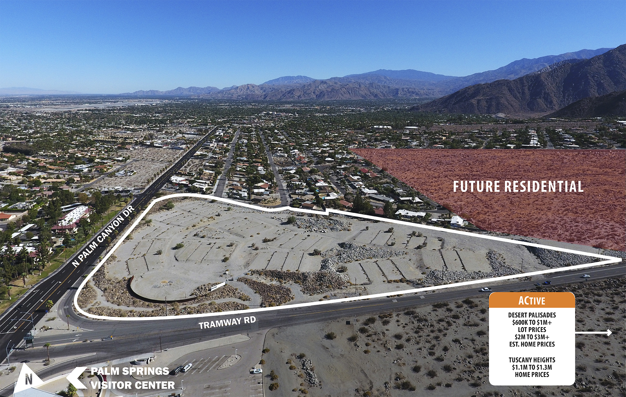 PEDREGAL | 132 Improved & Final Recorded Map Units | Palm Spring, CA on
